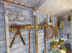 Grandfather's garden shed
